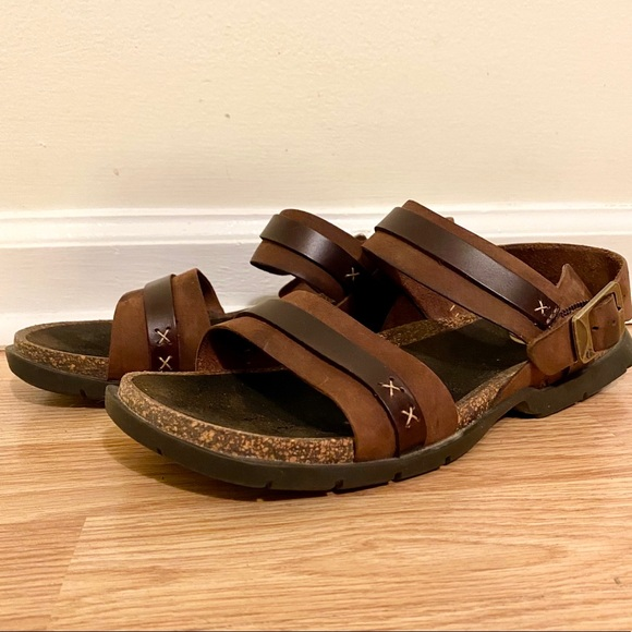 Timberland Women's Leather Athletic Sandals Hiking